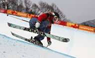 Соревнования по лыжному хафпайпу в рамках Олимпийских игр в Пхенчхане