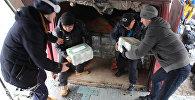 С авиабазы ОДКБ Кант отправили 5 тысяч банок варенья в Ярославскую область