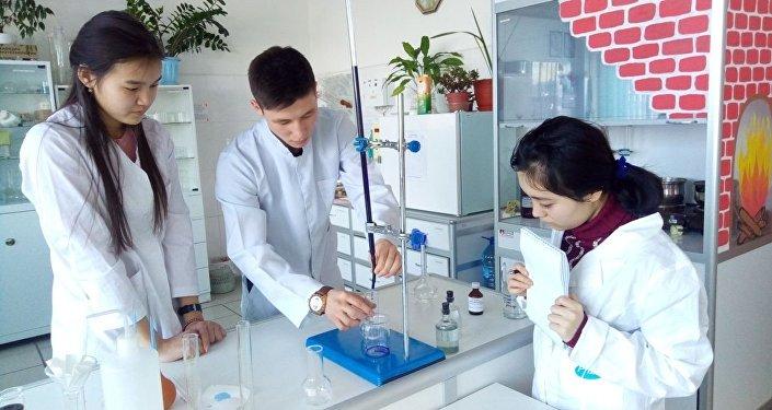 Старшеклассники из двух школ Бишкека завершили практическую часть исследовательских проектов на базе Кемеровского государственного университета