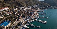 Катера в бухте Балаклавы в Крыму. Архивное фото