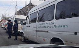 Бишкектин чок ортосунда үч маршрутка кагышты. Видео