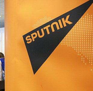 Sputnik маалымат агенттигинин логотиби. Архив