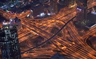 Вид на город Дубай с высоты. Архивное фото