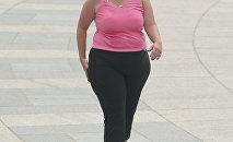 Женщина с избыточным весом. Архивное фото
