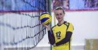 Волейболчу Марина Гришаеванын архивдик сүрөтү
