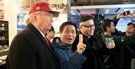 Двойники Трампа и Ким Чен Ына произвели фурор на Олимпиаде