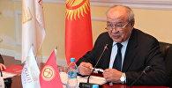 Экс-посол Кыргызстана в ряде стран Эсенгул Омуралиев. Архивное фото