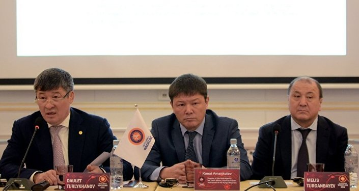 Директор ГАМФКиС КР Канат Аманкулов