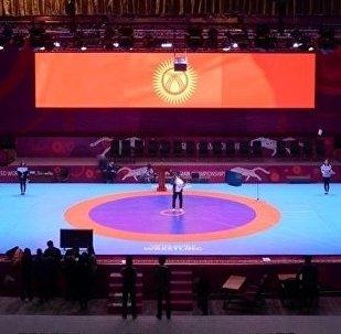 Чемпионат Азии по спортивной борьбе в Бишкеке