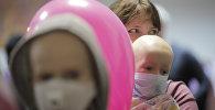 Ребенок в детском онкологии. Архивное фото