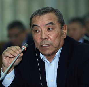Депутат Абдимуктар Маматовдун архивдик сүрөтү