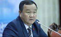 Депутат ЖК от фракции Кыргызстан Айтмамат Назаров