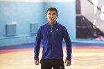 Кыргызстанский борец греко-римского стиля Жоламан Шаршенбеков. Архивное фото