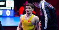 Грек-рим күрөшү боюнча кыргызстандык спортчу Урмат Аматов Бишкекте өтүп жаткан Азия чемпионатында күмүш медаль тагынды