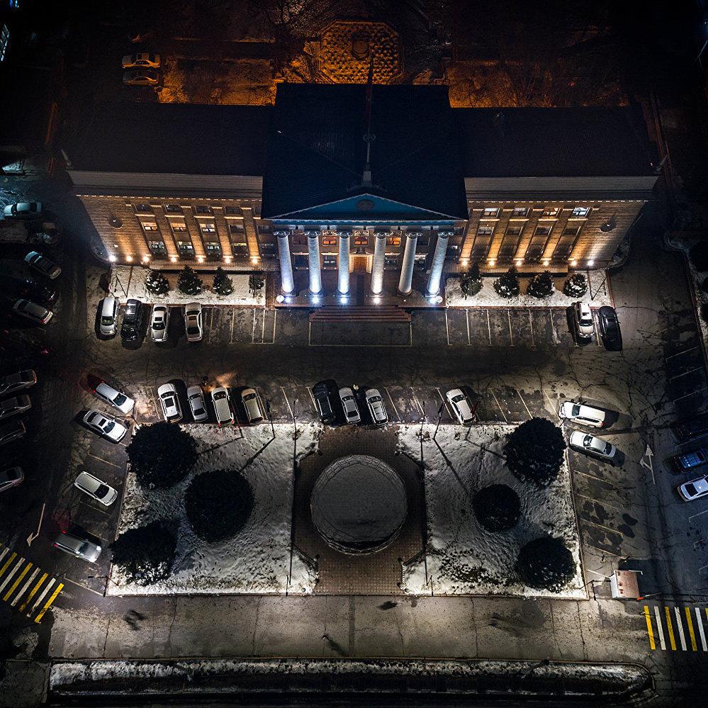 Бишкек с высоты птичьего полета — столичная мэрия