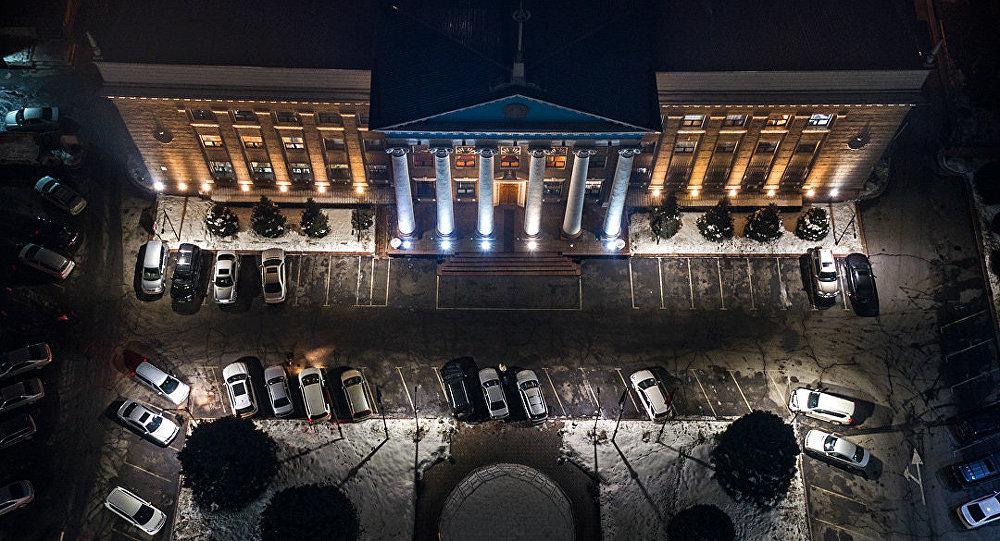 Бишкек мэриясы. Архивдик сүрөт