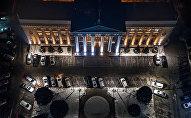 Бишкекская мэрия с высоты. Архивное фото