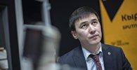 Архивное фото бывшей главы Нацэнергохолдинга Айбека Калиева