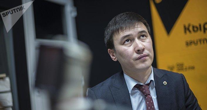 Глава Нацэнергохолдинга КР Айбек Калиев