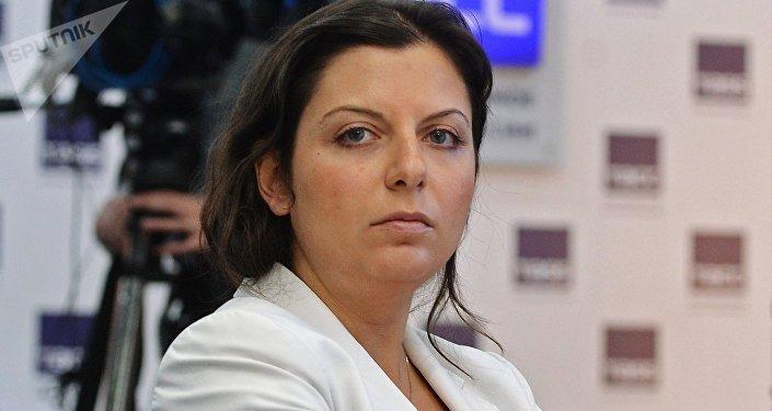 Главный редактор Международного информационного агентства Россия сегодня Маргарита Симоньян. Архивное фото