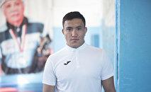 Кыргызстанский борец греко-римского стиля Атабек Азисбеков. Архивное фото
