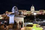 Цепной (Львиный) мост в Будапеште. Архивное фото