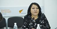 Советник Министерства здравоохранения Кыргызстана по доказательной медицине Бермет Барыктабасова. Архивное фото