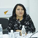 Консультант по доказательной медицине Министерства здравоохранения Бермет Барыктабасова