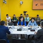 28 февраля в мультимедийном пресс-центре Sputnik Кыргызстан состоялся круглый стол на тему коррупции в сфере лекарственного обеспечения
