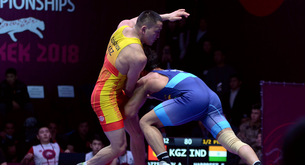 Балбан Атабек Азисбеков (82 кг). Архивдик сүрөт