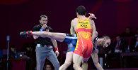 Чемпионат Азии по борьбе во Дворце спорта в Бишкеке