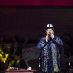 Азия чемпионатынын расмий ачылыш салтанаты Курмангазы Азыкбаевдин музыкалык номери менен башталды