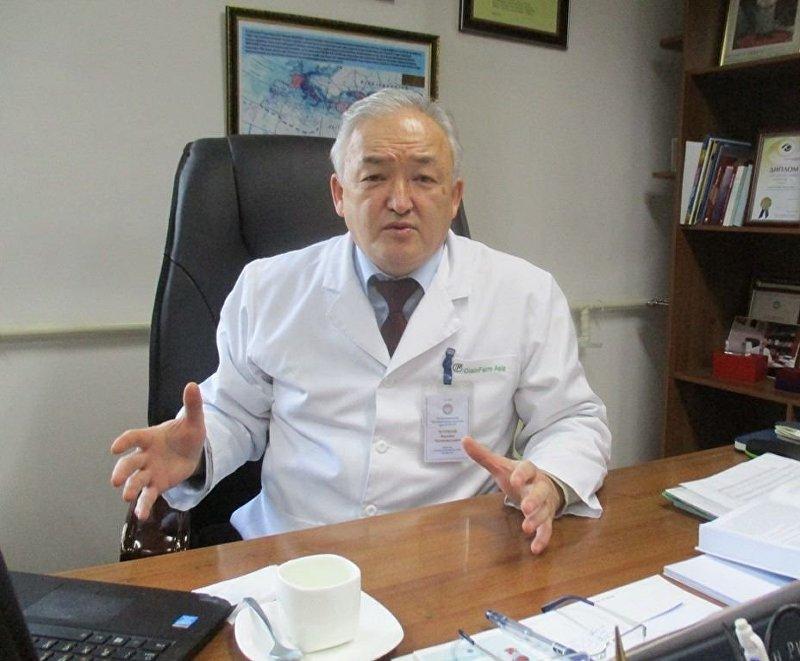 Главный уролог Кыргызстана Акылбек Усупбаев