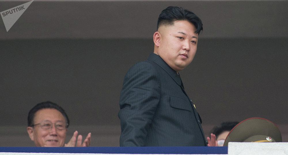 Архивное фото первого секретаря Центрального комитета Трудовой партии Кореи Ким Чен Ына
