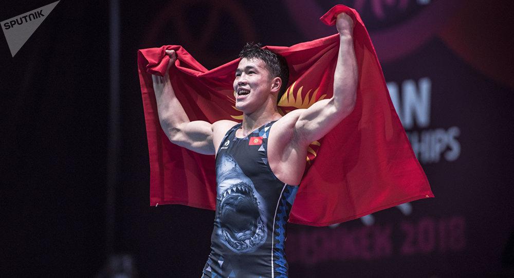 Кыргызстандык Акжол Махмудов