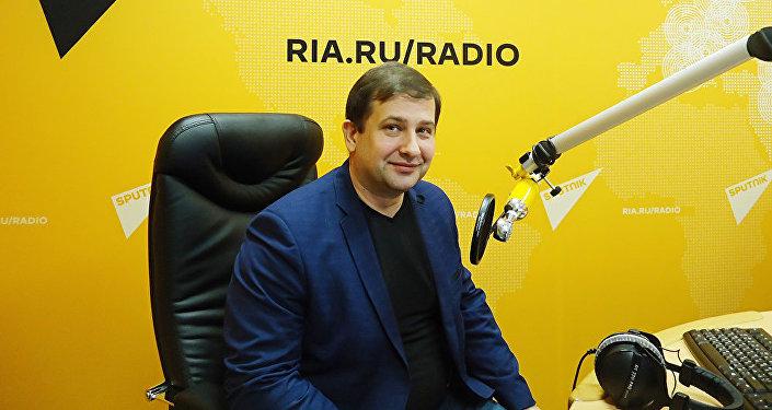 Доктор политических наук, профессор МГУ Андрей Манойло. Архивное фото