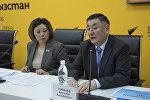 Эне жана баланы коргоо улуттук борборунун директору Камчыбек Узакбаев