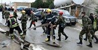 Бакудагы наркологиялык диспансерде өрт чыкты. Архивдик сүрөт