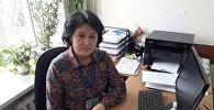 Врач по общей гигиене Департамента профилактики заболеваний и госсанэпиднадзора Министерства здравоохранения КР Мария Кушубакова