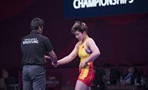 Кыргызстанская спортсменка Айпери Медет кызы. Архивное фото