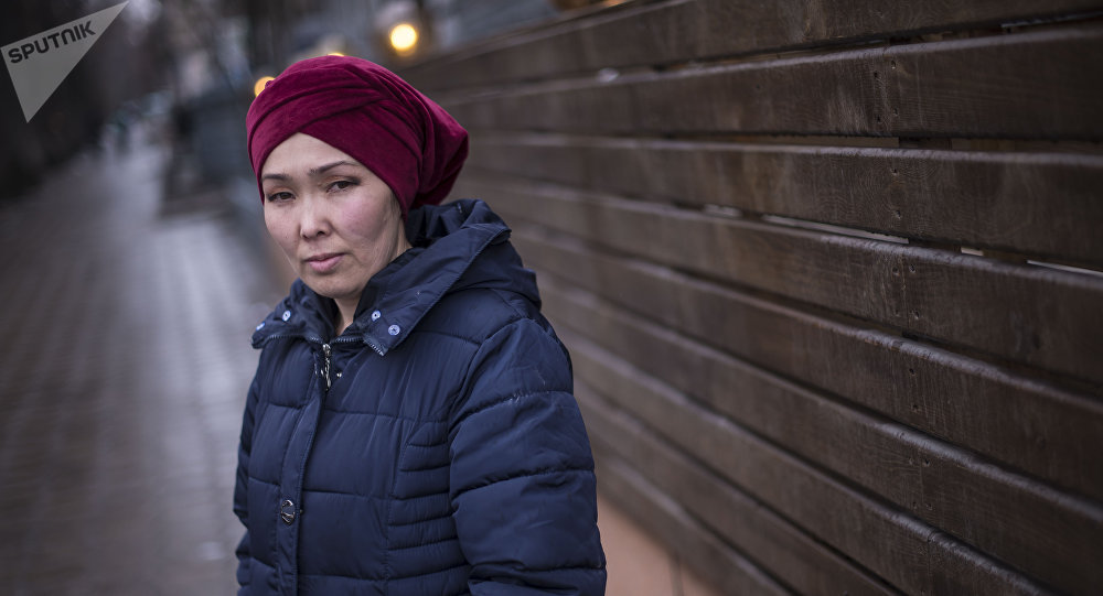 Кыргызстанка Айсулуу Алымбаева, ставшая донором Аргену Жумабаеву