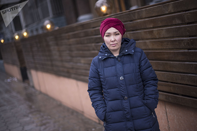Айсулуу Алымбаева, которая стала донором Аргену Жумабаеву и отдала почку