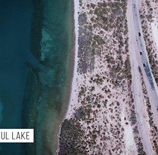 Эпичное приключение — туристы сняли красочные места Кыргызстана с дрона