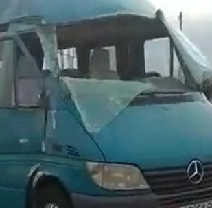 Страшное ДТП произошло на объездной, погиб человек. Видео с места