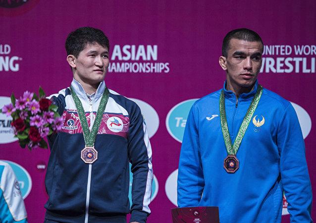 Кыргызстанский борец вольного стиля Улукбек Джолдошбеков, выступавший в весовой категории до 61 килограмма, завоевал бронзовую медаль.