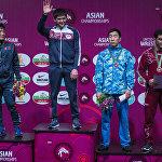 Намыска жарады! Муслим Евлоев эркин күрөш боюнча Кыргызстанга жалгыз алтын медаль алып келди