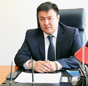 КР президентинин аппаратынын тышкы саясат бөлүмүнүн башчысы Данияр Сыдыков. Архив