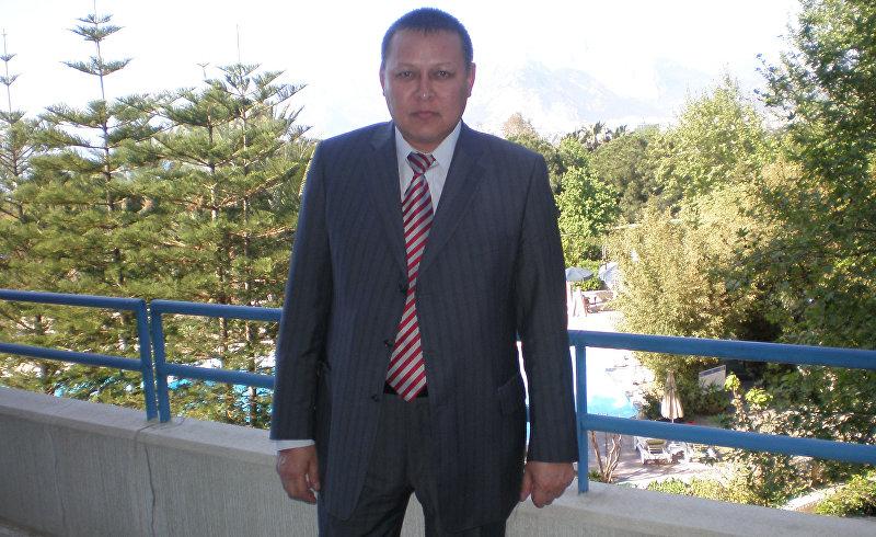 Генеральный директор пенсионного фонда Кыргызстан Кадырбек Нурманбетов