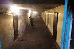 Чүй облусунун Новопавловка айылында мектептин жанындагы кароосуз калган жер алдындагы өтмөк оңдолуп кайтадан ачылды
