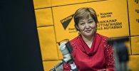 Кыргыз калпагы муундан-муунга ишканасынын жетекчиси Клара Асангулова